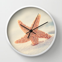 Hello Wall Clock by Erin Johnson