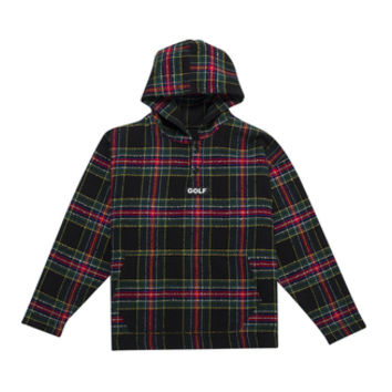 GOLF PLAID PULLOVER