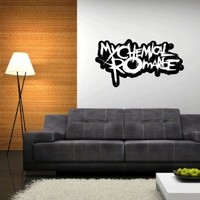 "My Chemical Romance Wall Graphic Decal Sticker 25"" x 13"""