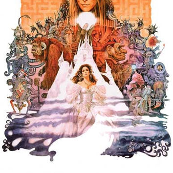 Labyrinth David Bowie Movie Poster 11x17