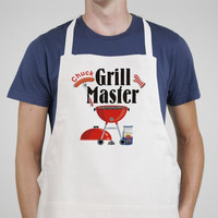 Grill Master Personalized Apron
