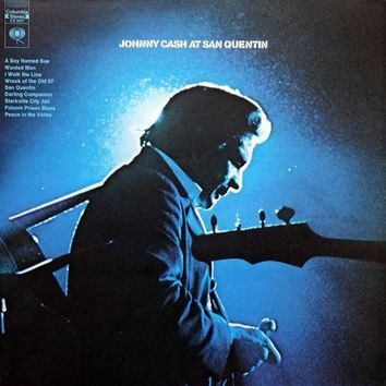 Johnny Cash ‎– Johnny Cash At San Quentin LP