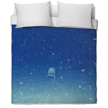 Chair In Ocean Bed Cover