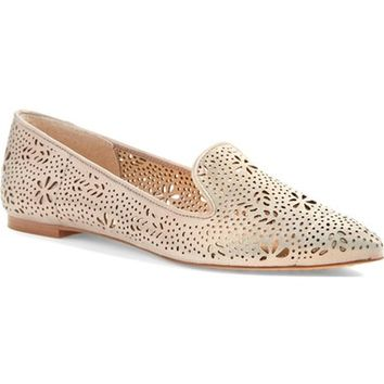 Vince Camuto 'Earina' Perforated Flat (Women) (Nordstrom Exclusive) | Nordstrom