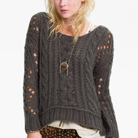 Free People Chunky Cable Sweater | Nordstrom