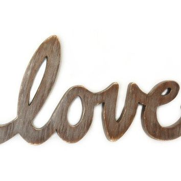 Love Sign wedding decor engagement prop photo by OldNewAgain