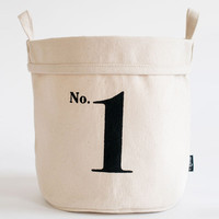 No. 1 Recycled Canvas Bucket
