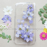 Samsung Galaxy S5 Case Flower, Samsung Galaxy S4 Case Rose, Samsung Galaxy S5 Case Pressed Flower, iPhone 6 Case, iPhone 5c Case, iPhone 5s
