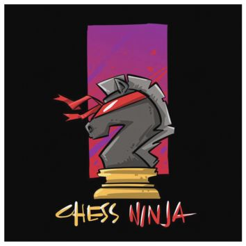 Chess Ninja, Best Knight Ever Canvas