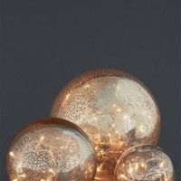 Buy Set Of 3 Parlane Mirrored Balls With Lights from the Next UK online shop