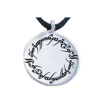 The Lord of the Rings Elvish Script Charm |