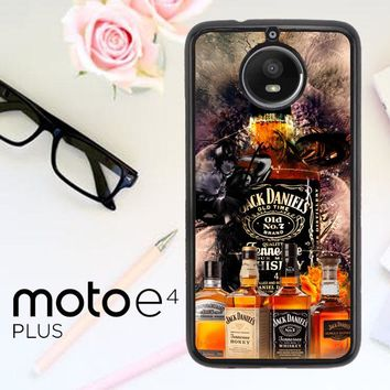 Jack Daniels Wallpaper X3402 Motorola Moto E4 Plus Case