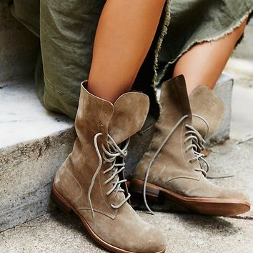 Free People Rainfall Lace Up Boot
