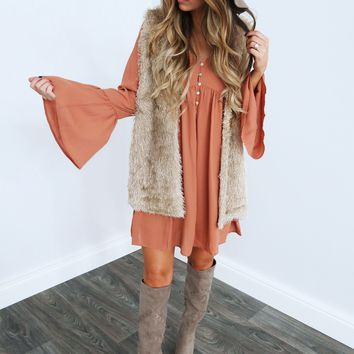 All The Wild Things Vest: Beige