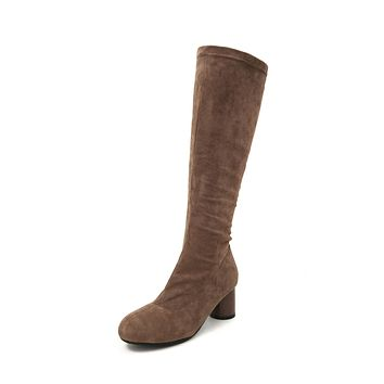 Soft Suede Tall Boots Winter Shoes for Woman 5387