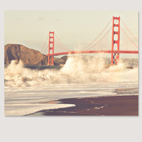 California Love Golden Gate Photo Art