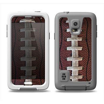 The Football Laced Samsung Galaxy S5 LifeProof Fre Case Skin Set