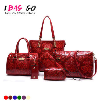 [329 On Sale] Set Of Chinese Ethnic And Rose Pattern Ladies Handbag Vintage Handbags Luxury Designer Summer Woman Tote Bags Sets