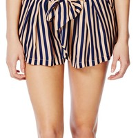 Relaxed Stripe Short