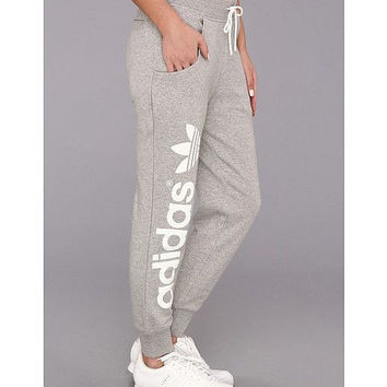 Adidas Original Women's Sport Casual Knit Long Pants Sweatpants