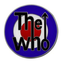 The Who Belt Buckle - Target