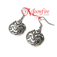GAME OF THRONES House Targaryen Dragon Earrings