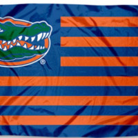 Florida Gators With Modified US Flag 3ft x 5ft Polyester