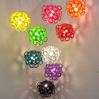 Loopy Lu Coloured Lampshade