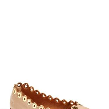 Women's Chloe 'Flo' Scalloped Flat