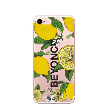 For iPhone7 7Plus 6 6S 6Plus 5 5S SE Case Cloud unicorn  I Ain't Sorry Beyonce Lemonade Boy Bye Clear Soft TPU Case Capa C -0316