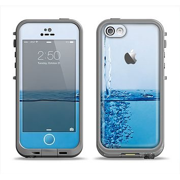 The Running Water Spicket Apple iPhone 5c LifeProof Fre Case Skin Set