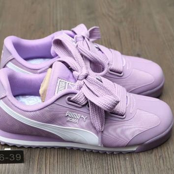 """""""Puma"""" Fashion Sport Solid Color Bow Casual Sneakers Women Shoes"""