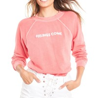 Feelings Come Sommers Sweater - Wildfox