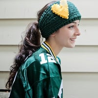 Football Fan Headband in team colors CHOOSE YOUR COLORS