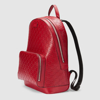 Gucci - Gucci Signature leather backpack
