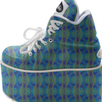 RUYA Funky Platform Shoes created by Webgrrl | Print All Over Me