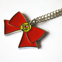 Sailor Moon Necklace - Bow Necklace for Sailor Moon cosplay - anime jewelry for fandom geeks!