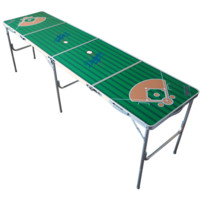 MLB Los Angeles Dodgers LA Dodgers 2x8 Tailgate Table