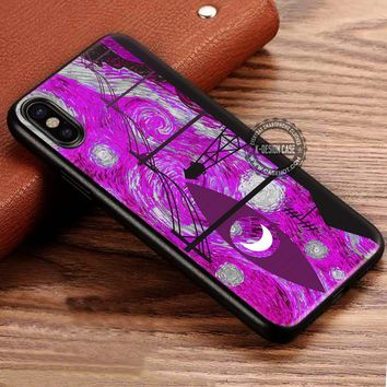Starry Night Welcome to Night Vale iPhone X 8 7 Plus 6s Cases Samsung Galaxy S8 Plus S7 edge NOTE 8 Covers #iphoneX #SamsungS8