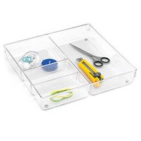 The Container Store > Linus™ 4-Section Drawer Organizer