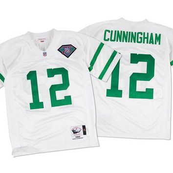 VON3TL Mitchell Ness Randall Cunningham 1994 Authentic Jersey Philadelphia Eagles In White