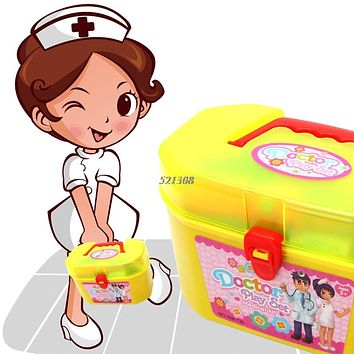 Educational Toys Pretend Play Doctor Nurse Kit For Kids Role Playing Games