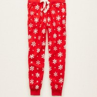 AERIE FLANNEL SLEEP JOGGER