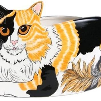 Patches - Calico Cat Planter Vase