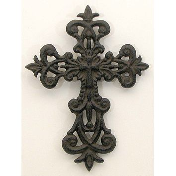 Fleur De Lis Cross Set of 2