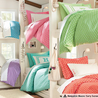 Dot Bedding & Dottie Bunk Bedroom