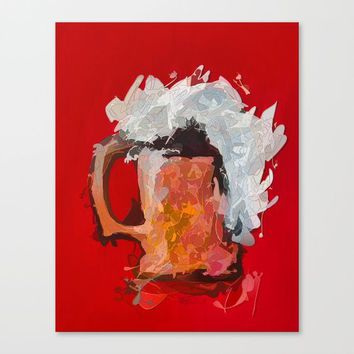 Abstract Beer by Lena Owens/OLenaArt