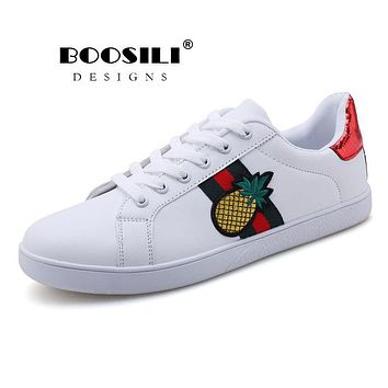 Zapatos Sale 2018 Brand Golden Genuine Leather Casual Women Trainers Goose Star Breathe Slipony Shoes Small Bee White Soft Sole