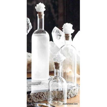Roost Crystal Cluster Decanters - Set Of 2