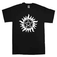 supernatural tattoo t-shirt unisex adults